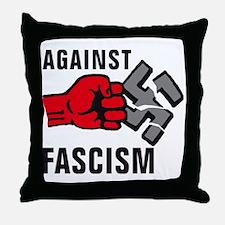 Gegen Nazis 01-2011 F 3c Throw Pillow