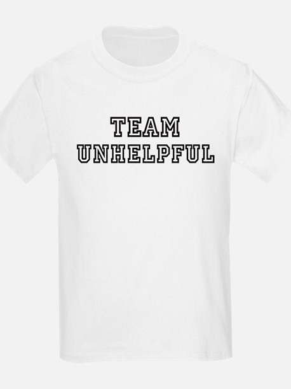 Team UNHELPFUL Kids T-Shirt