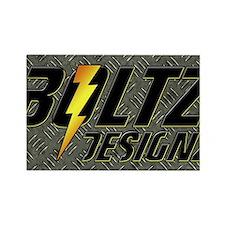 BoltZLaptopSkin Rectangle Magnet