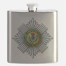 Scots Guards Flask