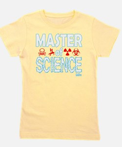Master of Science MSc Girl's Tee
