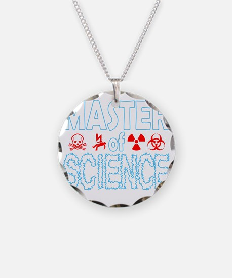 Master of Science MSc Necklace