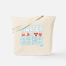 Master of Science MSc Tote Bag