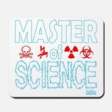 Master of Science MSc Mousepad