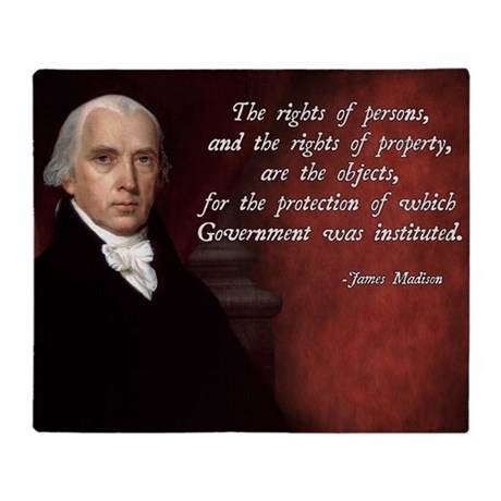 """james madison essay property James madison, the father of the constitution, perhaps understood this better than any of the founders in an titled """"property,"""" he wrote."""