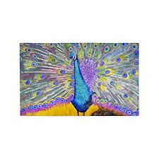 Peacock Dance 3'x5' Area Rug