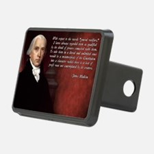 James Madison Quote Hitch Cover