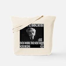 Oliver Wendell Holmes Tote Bag