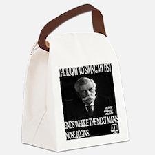 Oliver Wendell Holmes Canvas Lunch Bag