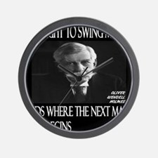Oliver Wendell Holmes Wall Clock