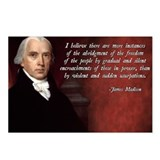 James madison Postcards