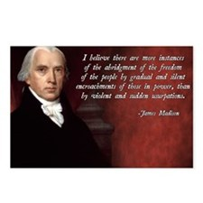 James Madison Quote Postcards (Package of 8)