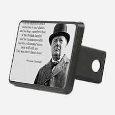 Winston Churchill British  Hitch Cover