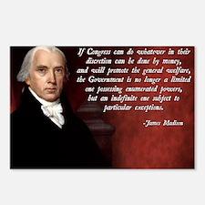 James Madison General Wel Postcards (Package of 8)