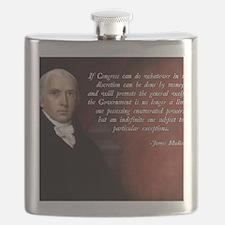 James Madison General Welfare Flask