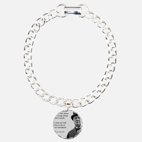 Winston Churchill Alcoho Bracelet