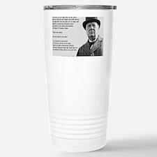 Winston Churchill Victory Quote Travel Mug