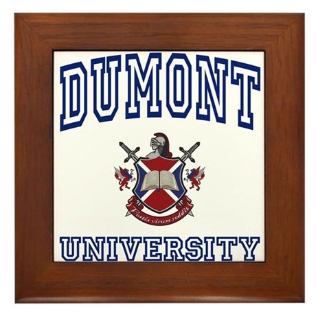DUMONT University Framed Tile