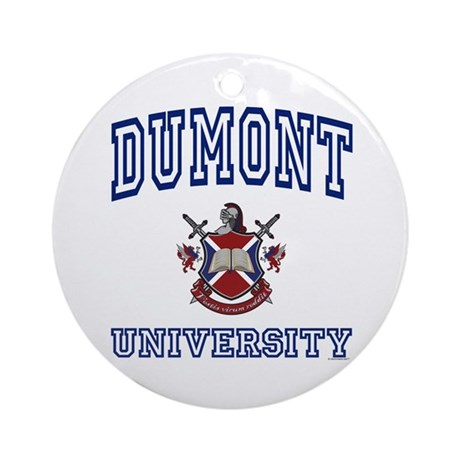 DUMONT University Ornament (Round)