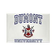 DUMONT University Rectangle Magnet