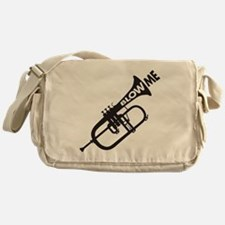 Trumpet Blow Me Messenger Bag
