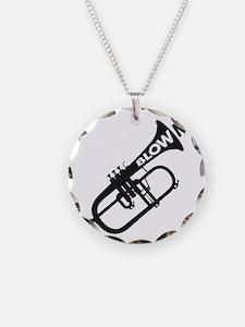 Trumpet Blow Me Necklace
