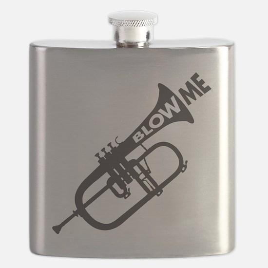 Trumpet Blow Me Flask
