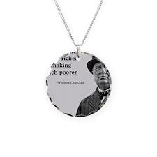Churchill Quote Necklace