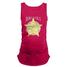 Star_Gold Maternity Tank Top