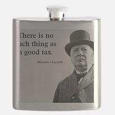 Churchill Tax Quote Flask