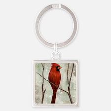 cardinal-full Square Keychain