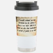 Barry Goldwater Quote Stainless Steel Travel Mug