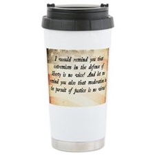 Barry Goldwater Quote Travel Mug