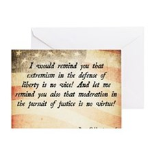 Barry Goldwater Quote Greeting Card