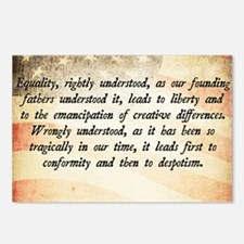 Goldwater Equality Quote Postcards (Package of 8)