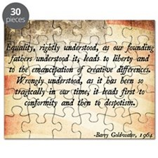 Goldwater Equality Quote Puzzle