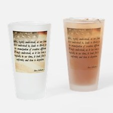 Goldwater Equality Quote Drinking Glass