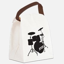 Drum Bang me Canvas Lunch Bag
