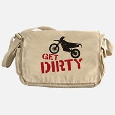 Get Dirty Messenger Bag