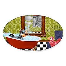 Patty  Egbert Take a Bath laptop sk Decal