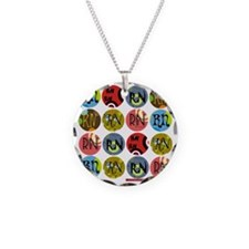 RN Colorful Polkadot Tote Ba Necklace