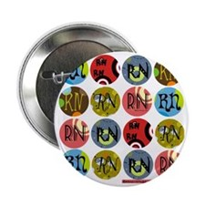 "RN Colorful Polkadot Tote Bag 2.25"" Button"