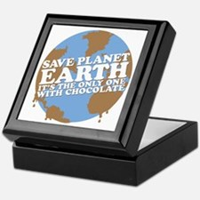 save earth Keepsake Box