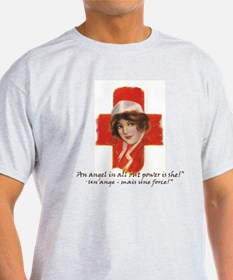 French Red Cross Poster Nurse Tote B T-Shirt