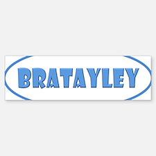 Bratayley Logo Bumper Bumper Sticker