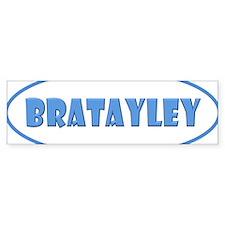 Bratayley Logo Bumper Sticker