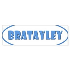 Bratayley Logo Bumper Stickers
