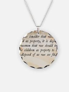 Elizabeth Cady Stanton Necklace