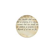 Elizabeth Cady Stanton Mini Button
