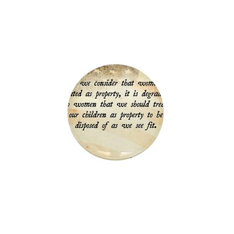 Elizabeth Cady Stanton Mini Button